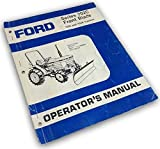 Ford Series 702C Front Blade 1320 1520 Operators Owners Manuals Set-Up Assembly