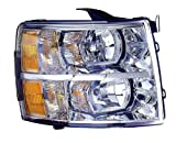Best Headlight For Replacements - Depo 335-1145R-AC Chevrolet Silverado Passenger Side Replacement Headlight Review