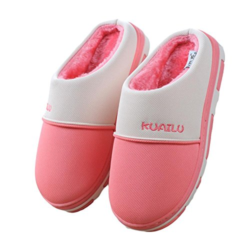 Unisex Zhang2 Scarpe Di Eu Caldo Donna Pantofole Invernali eu38 Pelliccia Slip Foderate Impermeabili 001 Uomo on adulto 44 wIxFzqwA