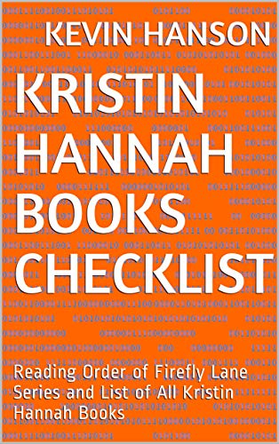 kristin hannah books list