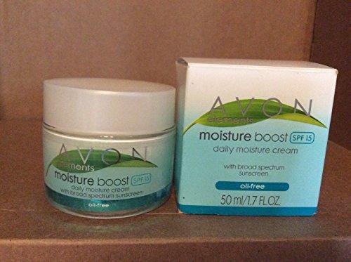 Avon Elements Moisture Boost daily moisture cream SPF SPF 15 Oil Free 1.7 fl. oz.
