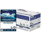 BOISE POLARIS Premium Multipurpose Paper, 8.5 x 11,  3 Hole Punch, 97 Bright White, 20 lb, 10 ream carton (5,000 Sheets)