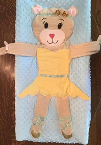 Changing Pad Cover Ballerina Bear by Emma Grace Embrace