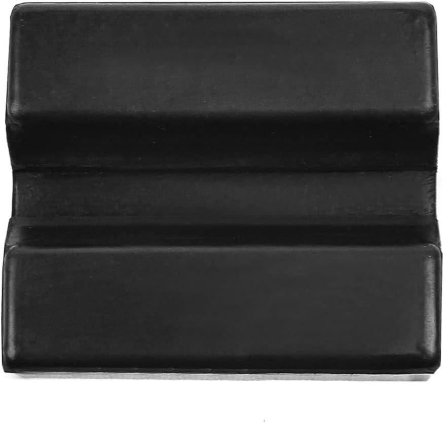 Adaptateur Coussinet avec Fente Protection Bas de Caisse de Voiture Outil Accessoire pour Crics de Levage DEDC Jack Pad Bloc de Cric en Caoutchouc
