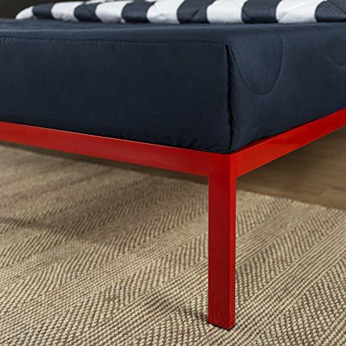 Zinus Mia Modern Studio 14 Inch Platform 1500 Metal Bed