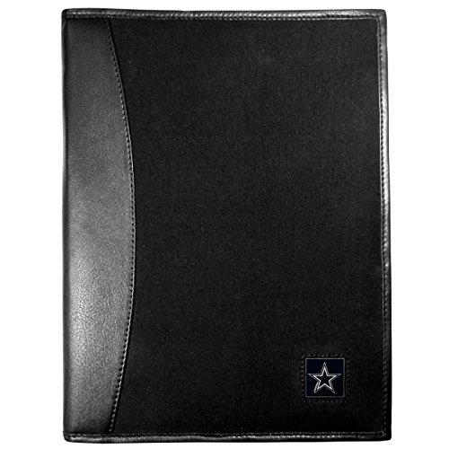 NFL Dallas Cowboys Leather & Canvas Padfolio, Black ()