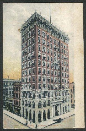 (Union Trust Company Building Providence RI postcard 1910s)
