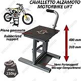 CAMAMOTO SOLLEVA MOTO MANUALE COD. 77549825