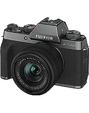 Fujifilm X-T200 Mirrorless Digital Camera w/XC15-45mm F/3.5-5.6 OIS PZ Lens - Dark Silver