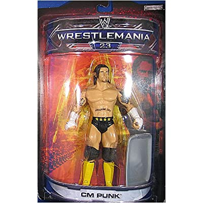 Jakks Pacific WWE Wrestling Road to WrestleMania 23 Series 3 CM Punk Exclusive Action Figure: Toys & Games