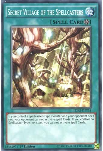 YuGiOh : LDK2-ENY33 Limited Ed Secret Village of the Spellcasters Common Card - ( Yu-Gi-Oh! Single Card ) by Deckboosters