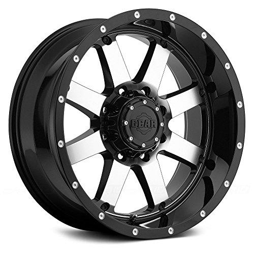 Gear Alloy 726M Big Block Wheel with Machined Finish (20x12