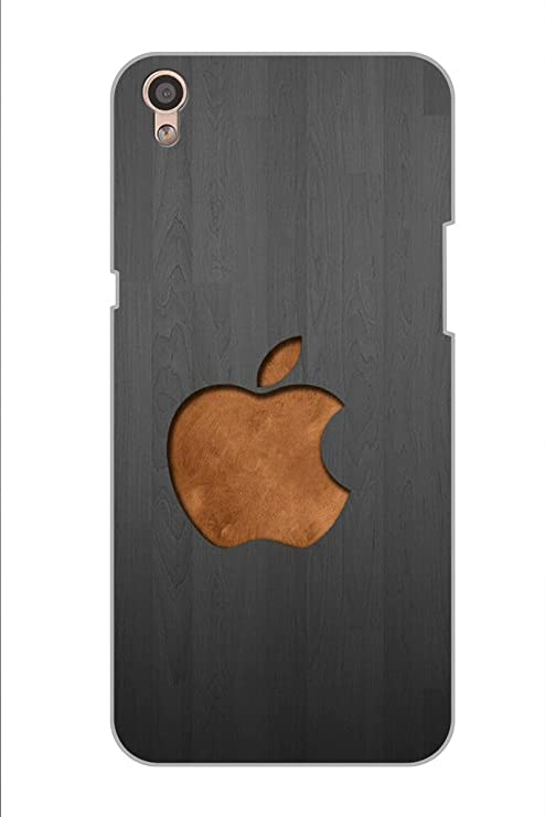 best cheap dea08 5bbc8 AMAN Wood Apple Logo 3D Back Cover for Oppo F1 Plus: Amazon.in ...