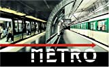 Metro: Photographic Elevations of Selected Paris Metro Stations