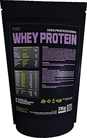 WHEY PROTEIN 100% PROFESIONAL, 1kg, PROPT, sabor chocolate ...