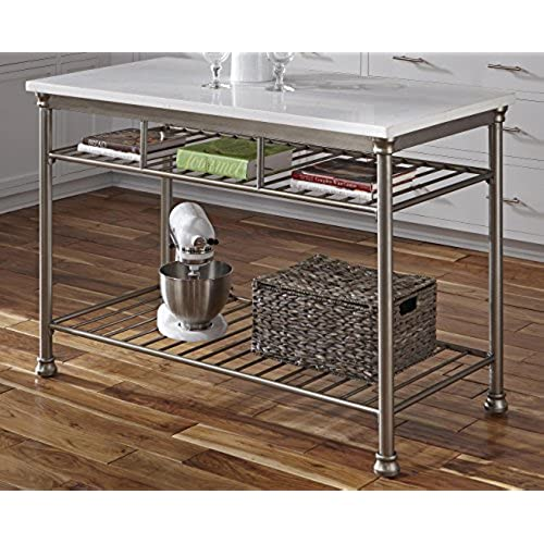 9 Standout Kitchen Islands: Stainless Steel Kitchen Island: Amazon.com