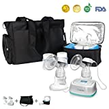 BelleMa S3 Hospital Grade Effective Double Electric Breast Pump with IDC Technology Value Pack with Tote and Cooler Pack