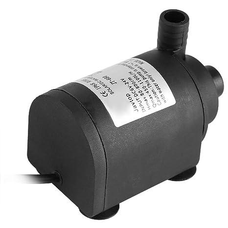 idalinya Bomba de Agua DC 24 v 1000 l/H Bomba de circulación ...