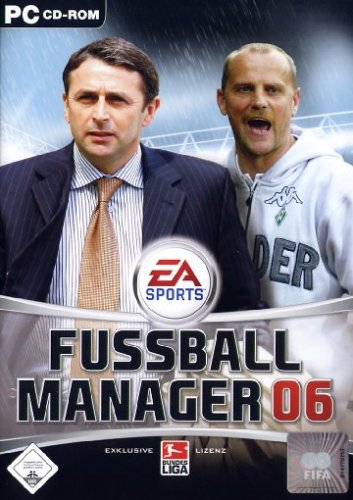 Fussball Manager 06 Ea Most Wanted Pc Spiel Amazon De Games