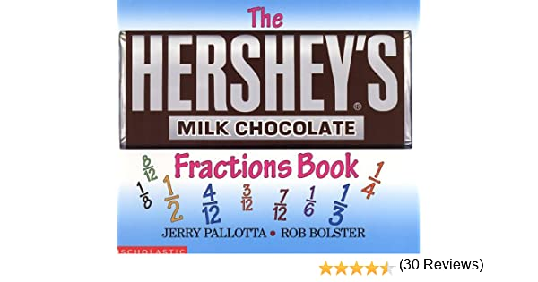 Workbook 4th grade spanish worksheets : The Hershey's Milk Chocolate Bar Fractions Book: Jerry Pallotta ...