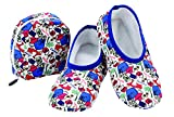Snoozies! Cute Prints Mixed Designs Plush Skinnies & Travel Pouch (X-Large, Travel)