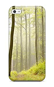 New Premium BradyFord Forest Skin Case Cover Excellent Fitted For Iphone 5c