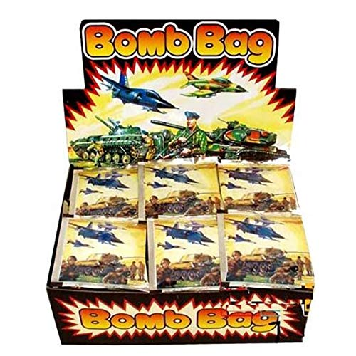 (OBI Bomb Bags 72pc with Display Box - Exploding Bag Prank Novelty Gag Gift Party Favors)