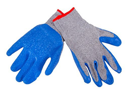 Darice 30007621 Gloves 1 Pair, Latex Coated Work (Darice Crafters Tool Box)