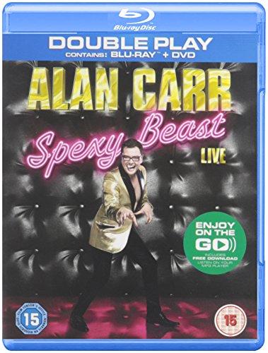 Alan Carr: Spexy Beast Live (Region B/2 Blu-Ray import)