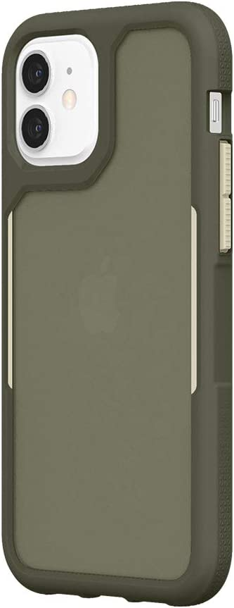 Survivor Endurance Case Compatible with iPhone 12 & iPhone 12 Pro (Olive Green)