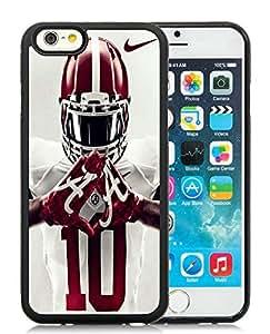 alabama football 2 Black Individual Custom iPhone 6 4.7 Inch TPU Case