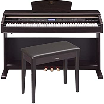 Yamaha Arius YDP-V240 Traditional Console Digital Piano With Bench