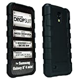 Body Glove DropSuit Case for Samsung Galaxy S4 mini/I9195 – Retail Packaging – Black