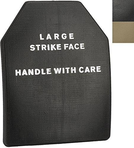 Evike - Lightweight Airsoft Imitation SAPI Plate (Size: Large/Black/Single Plate)