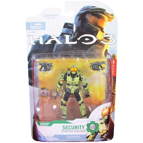 HALO 3 Series 4 Spartan Security Soldier  Action Figure