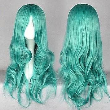 FDSSDG cosplay? neptuno peluca cosplay verde