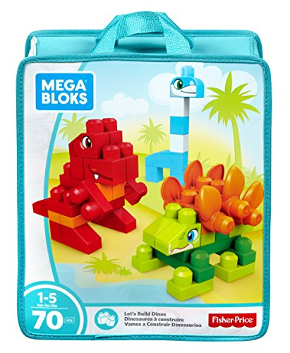 Mega Bloks Let's Build Dinos Building Set (Amazon Exclusive)