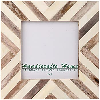 Giftgarden 4x4 Square Picture Frame Wine Corks Frames for 4 by 4 ...