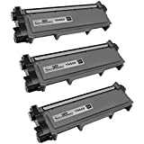 Speedy Inks - 3 Pack Compatible Brother TN630 TN660 TN-660 High Yield Black Toner Cartridge fort use in DCP-L2520DW, DCP-L2540DW, HL-L2300D, HL-L2320D, HL-L2340DW, HL-L2360DW, HL-L2380DW