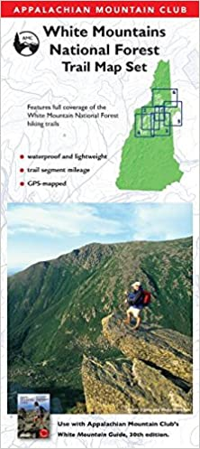 AMC White Mountains National Forest Trail Map Set ...