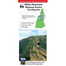 AMC White Mountains National Forest Trail Map Set
