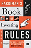 img - for Harriman's New Book of Investing Rules: The do s and don ts of the world s best investors book / textbook / text book