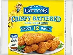 Gorton's, Crispy Battered Fish Portions, 24.5 oz (Frozen)