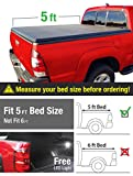 MaxMate Tri-Fold Truck Bed Tonneau Cover Works with 2015-2018 Chevy Colorado/GMC Canyon | Fleetside 5' Bed