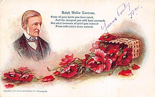 Ralph Waldo Emerson Famous People Postcard