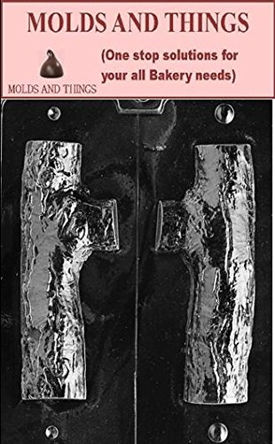 (Molds And Things 3D YULE LOG CHOCOLATE CANDY MOLD With Exclusive Chocolate Making Instruction)