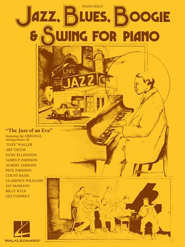 Jazz, Blues, Boogie & Swing for Piano -