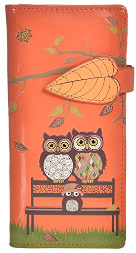 Shag Wear Women's Animal Inspired Large Wallet