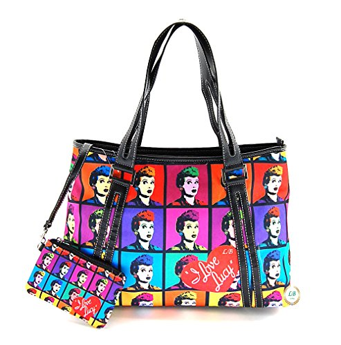 I Love Lucy - Tote Bag With Tote - I Love Lucy TV Show Handbags LN1201 by I Love Lucy (Image #2)
