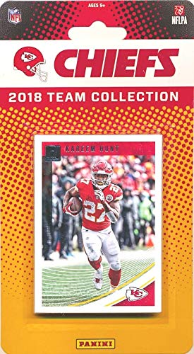 Kansas City Chiefs 2018 Donruss NFL Football Factory Sealed Limited Edition 12 Card Complete Team Set Patrick Mahomes II, Kareem Hunt, Eric Berry, Tyreek Hill & Many More! WOWZZER!